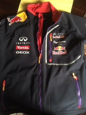 Pepe jeans herren jacke softshell red bull racing