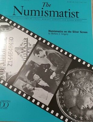 The Numismatist Numismatics On Silver Screen March 1991