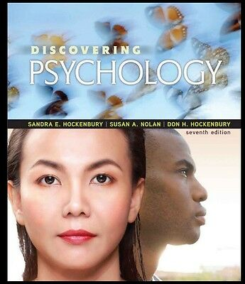 discovering psychology 7th edition by Sandra E Hockenbury ****eTextbook**