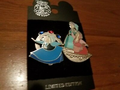 Disney pin - Sleeping Beauty - 3 Fairies (Flora, Fauna, Merryweather) in Spoon