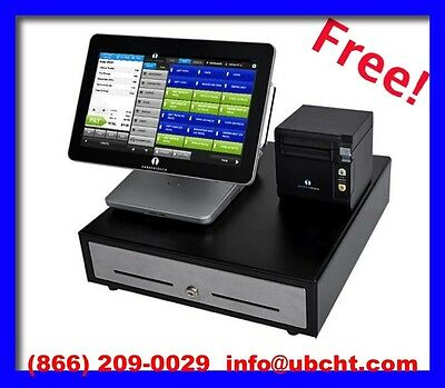 Touch Screen POS Point of Sale System designed for Retail & Restaurant