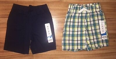 NWT Lot of 2 Jumping Beans Boys Size 2T Shorts