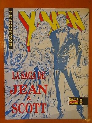 X-Men. La saga de Jean & Scott. Mega Scoop N° 4. Sémic Marvel Comics