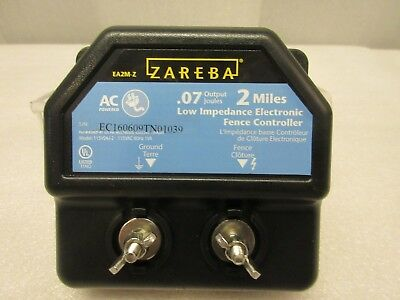 New Zareba Electric Fence 2 Mile Charger