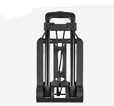 D31 Rugged Aluminium Luggage Trolley Hand Truck Folding Foldable Shopping Cart