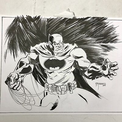 DC Comics Batman The Dark Knight Returns Original Comic Art