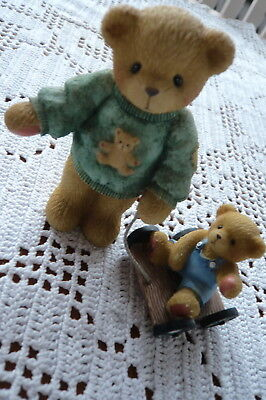 Deko   ###  Cherished Teddies ###   Russell and Ross