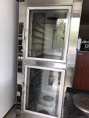 nu-vu electric convection oven / proofer . bread oven