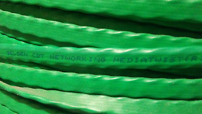 1000' Belden 1875Gb 005 Mediatwist Cat 6+ 24 Awg 4 Pr Stranded Cmr Green Jacket