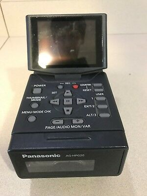 Panasonic AG-HPG20P.  P2 HD  Portable Recorder