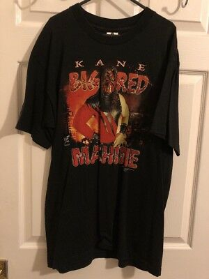 WWF/WWE Kane You Will Burn In Hell T Shirt Large
