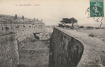 CPA - Iles Chausey - Le Fort  - 1910