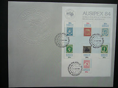 Australia 1984 FDC Ausipex 84 World Exhibition (tw50)
