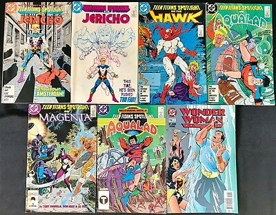Lot Of 7 Dc Variety Group (Dc,1986-1996) #4,5,7,10,17,18,116 Copper/modern Age