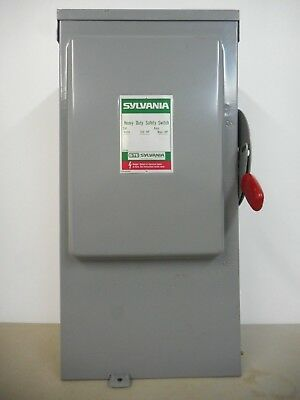 Sylvania Rhd2032Sn 200 Amp 240 Volt Single Phase Outdoor Fused Disconnect