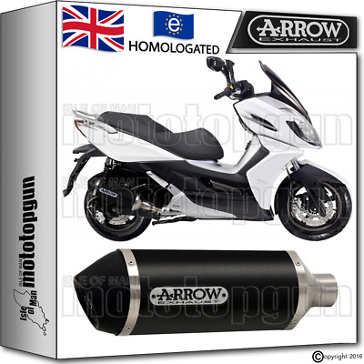 Arrow Silencer Urban Aluminium Dark Hom Kymco K-Xct 125 2011 11 2012 12 2013 13