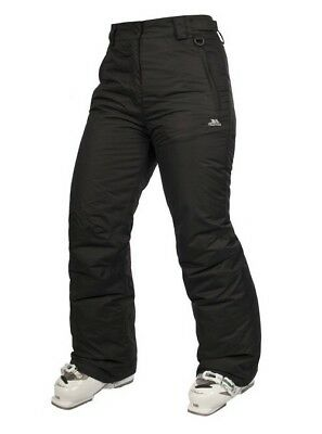 New Womens Trespass Moloko Ski Snowbpard Pants Trousers TP50 Black Size M