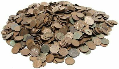 1007 UNSEARCHED Lincoln WHEAT Pennies Various Dates