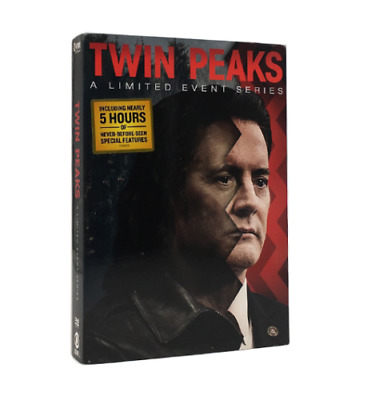 Twin Peaks: A Limited Event Series (DVD, 2017,8-Disc Set) Free shipping NEW
