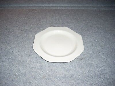 """Vintage J & G Meakin England Liberty White Ironstone Octagon Small 7"""" Plate"""