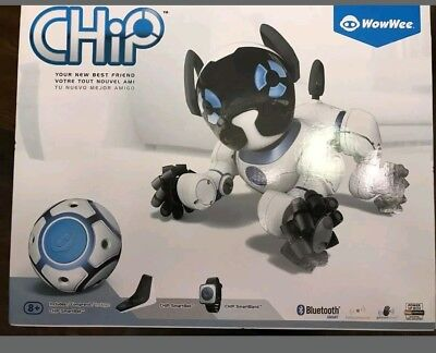 WowWee CHiP Robot Toy Dog - White - BRAND NEW