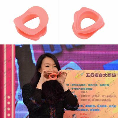 Silicone Anti-Wrinkle Anti-Aging Face Slimmer Muscle Exercise Lip EN