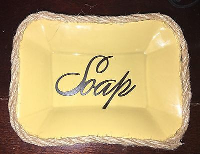 Handcrafted Gold Ceramic Rustic SOAP dish Custom made To Order Or Buy This Now!