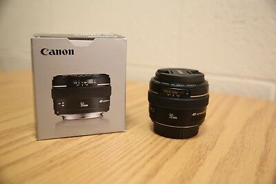Canon EF 50 mm F/1.4 EF USM For Canon - Black (NEAR MINT)