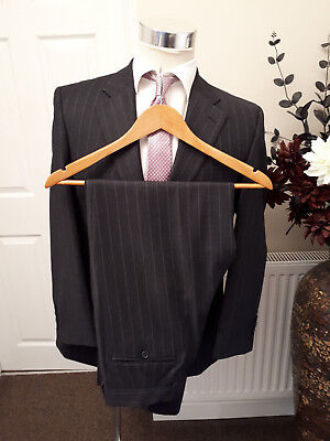 CHESTER BARRIE REDA SUPER 100s WOOL SUIT 38 S  SAVILE ROW FALL / WINTER SUIT
