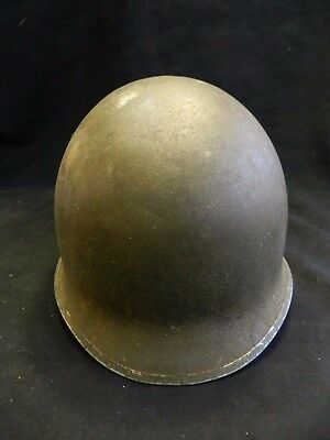Early WWII M1 Helmet Fixed Bail Westinghouse Liner U.S Army 32B 3 Shell