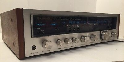 Vintage Kenwood KR-5600 AM/FM Stereo Receiver - Made in Japan, SOLD AS IS, Read