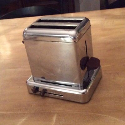 Vintage Toaster By Dominion Two Slice Style #1105