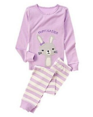 NEW GYMBOREE Gymmies Pajamas sets Pjs Girls size 2T 3 4 Toddler NWT Easter Bunny
