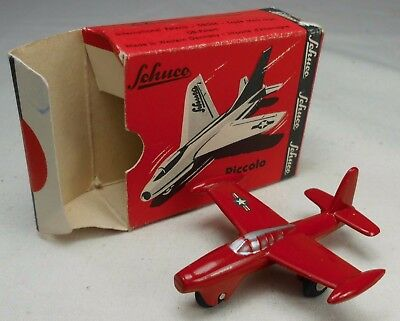 Modell-Flugzeug Schuco Piccolo 780 - Thunderjet in OVP Western Germany TOP /122