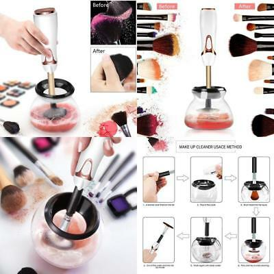 Automatic Makeup Brush Cleaner Drier Deep Clean Machine 360 Degree Rotation NEW