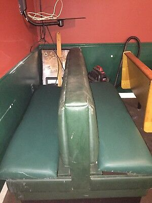 Booth Seating Sold as Set of 6 Booths #7507 Commercial Restaurant Dining Seats