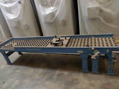 "NEW LONDON ENGINEERING Ball Transfer Conveyors table 24""BT100"",24""BT93"",24""BT30"
