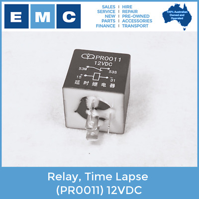 Relay, Time Lapse for Low Speed Vehicles