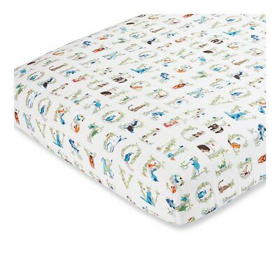 NEW Aden + Anais 100% Cotton Muslin Fitted Cot Sheet from Baby Barn Discounts