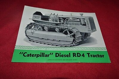 Caterpillar RD4 Crawler Tractor Dealer's Brochure RPMD