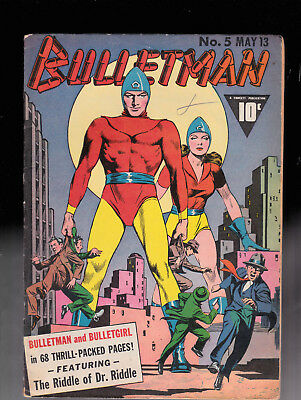 Bulletman 5 Raboy Cover Solid copy Ray Miller
