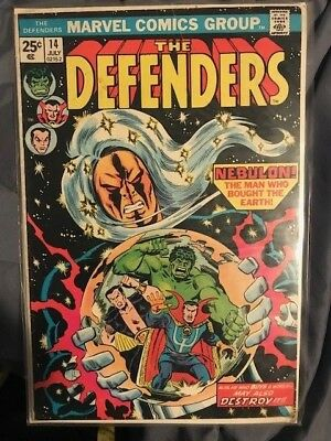 The Defenders #14 (Jul 1974, Marvel)