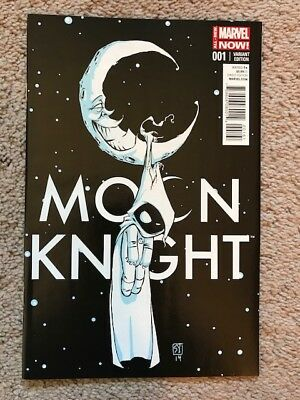 Marvel's Moon Knight #1 Skottie Young Varriant NM
