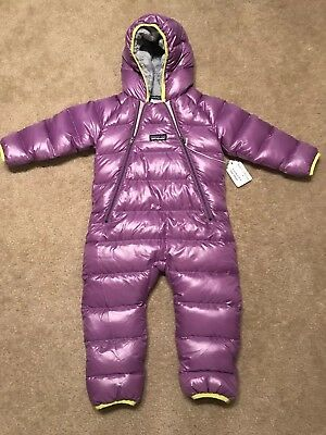 NWOT Patagonia Hi Loft Down Infant Bunting Snowsuit 6 to 12 Months