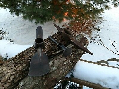 Vintage Antique Hoe, Hammer and Pick Head - Rustic Farm Finds!