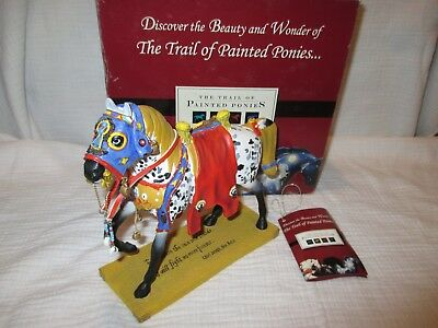 The Trail of Painted Ponies RUNS THE BITTERROOT #12280 w/ box and tag