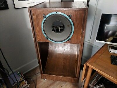 Pair Of Very Large Speaker Cabinets For Single Driver Altec JBL & More