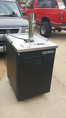 True TDD-1 Single Tap Draft Beer Dispenser / Kegerator