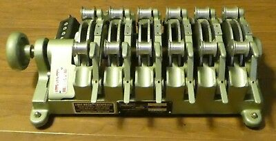 Moviola 6-Gang Synchronizer for 16mm Film - Model SZF - Excellent Condition
