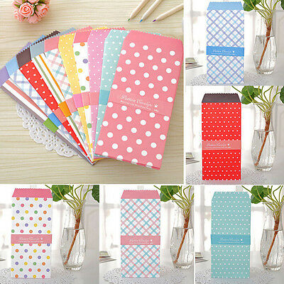 5x/1Pack Colorful Envelope Small Gift Craft Envelopes for Letter fashion new